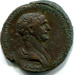 As, Roman; 114-117 CE; Rome; AR 1-16