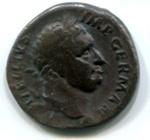 Silver Denarius, Roman; 69 CE; Lugdunum (Lyon), Gaul; AR1-12
