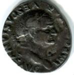 Silver Denarius, Roman; 69-79CE; Rome; AR1-13
