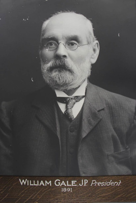 Photograph of William Gale; 1891; 85.0825