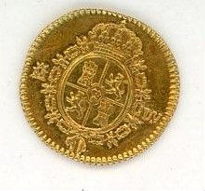 Coin, 1/2 Escudo, 1786; 1786; 76.0005