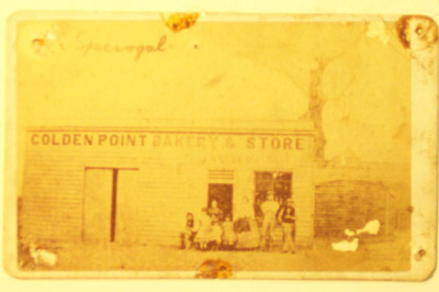 THE GOLDEN POINT BAKERY AT BALLARAT EAST - At Golden Point and later at Bakery Hill