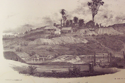 The Diggers & Diggings of Victoria as They are in 1855 Drawn on Stone by S.T Gill; S.T. Gill, James Blundell; 1855; 91.00496