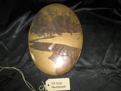 Chocolate Box, oval shaped box