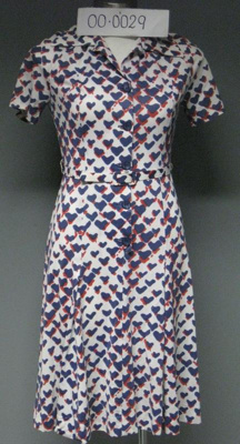 Ladies Day Dress; E Lucas & Co.; 1960s; 00.0029