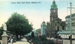 Town Hall, Sturt Street, Ballarat Vic.; 95.2246