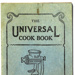 Booklet; 'The Universal Cook Book'; 78.2741