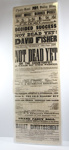 Theatre Poster, 'Not Dead Yet or the Counterfeit - A Tale of the Times', 1866; 1866; 2019.2627