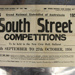 Program, South Street Competitions 7 September - 27 October 1956; 1956; D