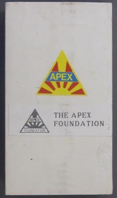 The Apex Foundation; 2013.0741