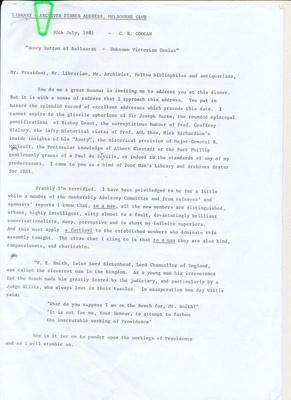 Henry Sutton of Ballarat - Unknown Victorian Genius; 30 Jul 1981; 05.2422