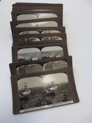 Stereocards: The American Fleet in Australia; The Rose Stereographs; 1908; 2015.0128