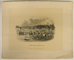 Ballarat Post Office & Township, from Government Enclosure; Sands & Kenny; S.T. Gill; 1857; 02.0661