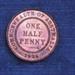 Coin, Halfpenny, 1936; 1936; 76.0558