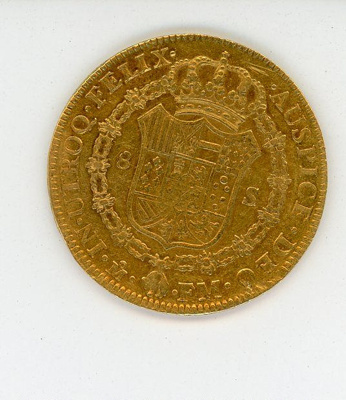 Coin, 8 Escudos, 1791; 1791; 76.0006