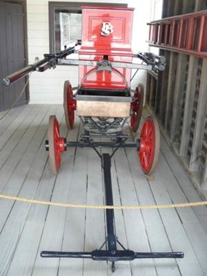 Fire Pump Wagon; 1853; 08.0771