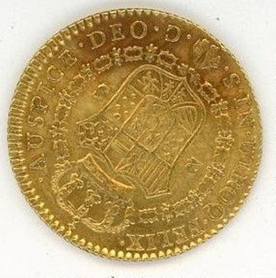 Coin, 4 Escudos, 1788; 1788; 76.0002