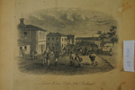 S.T. Gill, 'Lydiard St. From Bath's Hotel, Ballarat'; J. Tingle; S.T. Gill; 88.0030