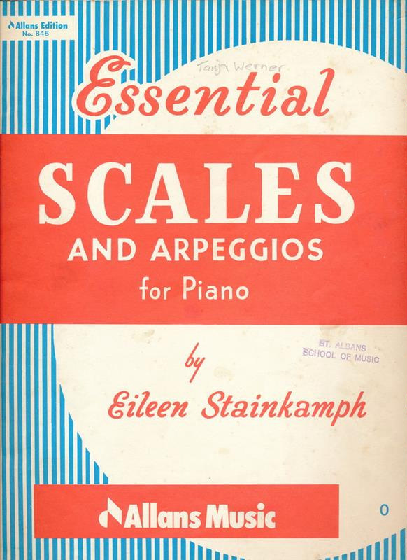 Essential Scales and Arpeggios for Piano