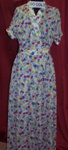 Floral Day Dress; E.Lucas & Co., Pty Ltd; 1950s; 00.0063