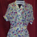 Floral Day Dress; E.Lucas & Co., Pty Ltd; 1950s; 00.0063