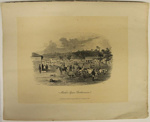 Market Square,  Castlemaine; Sands & Kenny; S.T. Gill; 1857; 02.0660