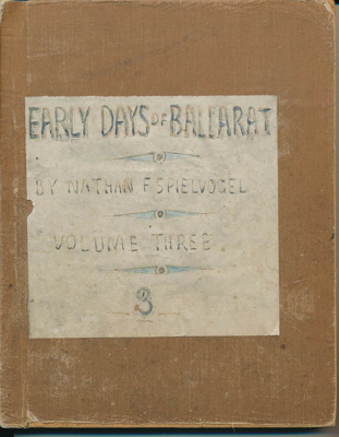 Early Days of Ballarat: Volume Three. Broadcasts given at 3BA during 1937-1938; 1938; 05.0670