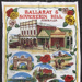 Souvenir tea towel of Sovereign Hill, Ballarat; 2013.0234