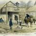 Coloured lithograph: Interior Of John Alloo's Restaurant, Ballarat; S.T. Gill; 1855; 99.0114