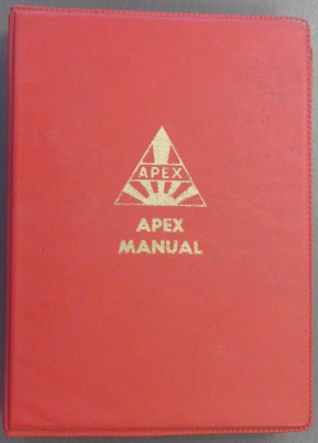 Association of Apex Clubs Consitution and Standing Orders; Apex Action Committee; 1973-1974; 2013.0739