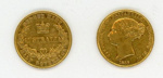 Coin, 1/2 Sovereign, 1856; Royal Australian Mint; 1856; 76.0032