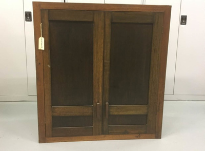 2 Door Cabinet With 3 Shelves; 1930s; 00.0250