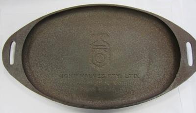 John Valves Barbeque Plate; John Valves Pty. Ltd.; 1974; 05.2799