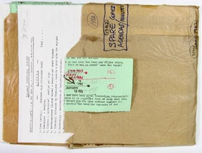 Ballarat Historical Society Executive Minutes and Agendas; Ballarat Historical Society; 1982; 78.2704