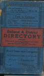 Ballarat and District Directory 1904; 1904; 05.0720