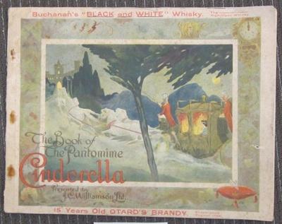 The book of the Pantomnie Cinderella; Syd Day Ltd; 1914-1915; 2012.0480