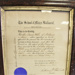 Framed Certificate from School of Mines to Louis Clarendon Whittle. 1884; School of Mines; 09 Jan 1884; 2019.2606