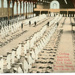 Postcard: Clothing Inspection, Drill Hall, US Naval Training Station, No. Chicago, Ill.; 83.2584