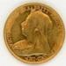 Coin, 1/2 Sovereign, 1900; Royal Australian Mint; 1900; 76.0051
