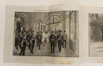The Queens funeral  (newspaper supplement) Queen Victoria.; Illustrated London News; 07 Feb 1901; 2018.0335