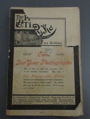 The American Annual of Photography and Photographic Times, 1907; Styles and Cash, New York; 1907; 2014.1037