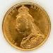 Coin, Sovereign, 1888; Royal Australian Mint; 1888; 76.0045