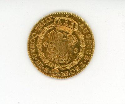 Coin, 4 Escudos, 1796; 1796; 76.0007