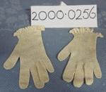 Female Gloves  -  1 Pair; 1930s-1940s; 00.0256