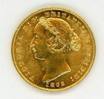 Coin, Sovereign, 1862; Royal Australian Mint; 1862; 76.0033