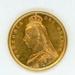 Coin, 1/2 Sovereign, 1887; Royal Australian Mint; 1887; 76.0047