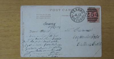 Postcard; S. Hildesheimer & Co. Ltd.; 17 Jul 1907; 2011.0429
