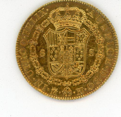 Coin, 8 Escudos, 1773; 1773; 76.0001