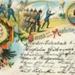 Postcard: Cruss (or Gruss)aus dem Manovergelande; 83.2580