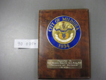 Wall Plaque; 90.0354
